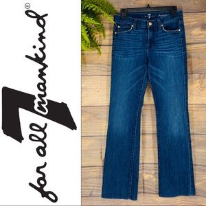 7FAM Original Bootcut Dark Wash Jeans